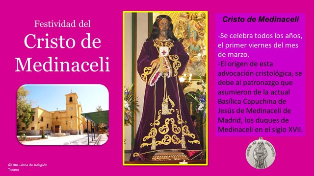 [The residents of Totana celebrate the secular feast of Christ of Medinaceli