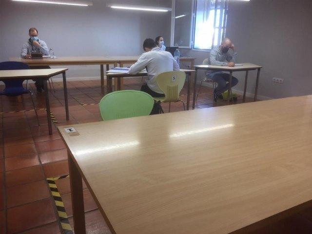 [A partir de mañana se procede al cierre temporal de la Sala de Estudio del Centro Sociocultural