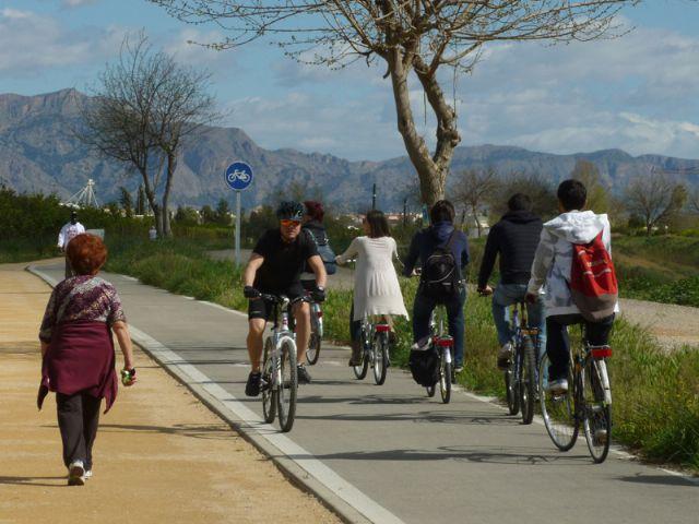 Este viernes comienzan en Murcia los XVIII encuentros cicloturistas conbici, los Achoencuentros, Foto 1