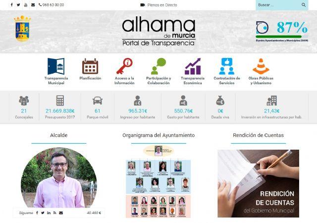 Alhama, el ayuntamiento más transparente de la Región de Murcia, Foto 3
