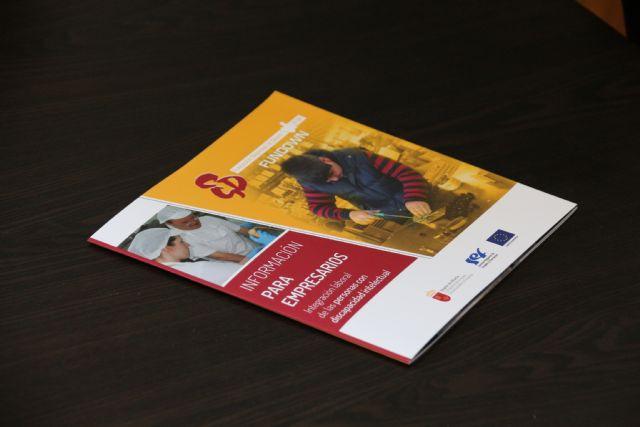 Fundown busca oportunidades de integración laboral para personas con discapacidad intelectual en Alhama, Foto 2