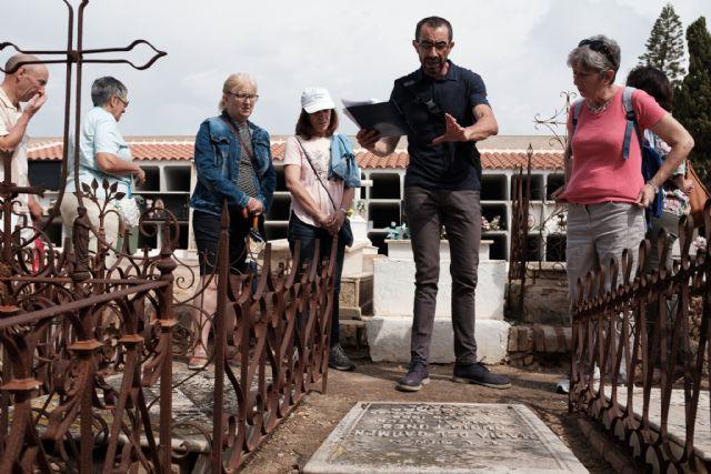 Vuelven las visitas culturales al cementerio de Mazarrón - 1, Foto 1