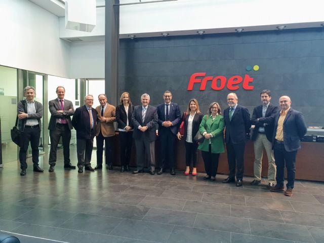 FROET y la Universidad de Murcia sondearán posibles vías de colaboración - 1, Foto 1