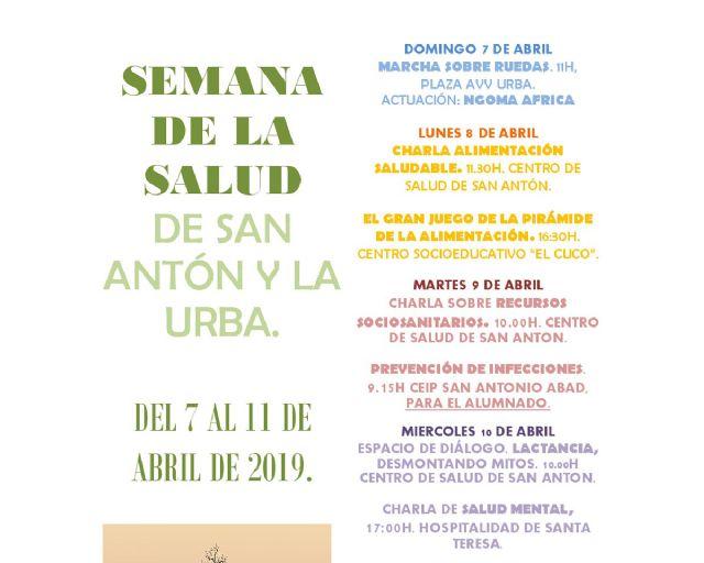 Los barrios de San Antón y la Urba celebran la II Semana de la Salud - 1, Foto 1