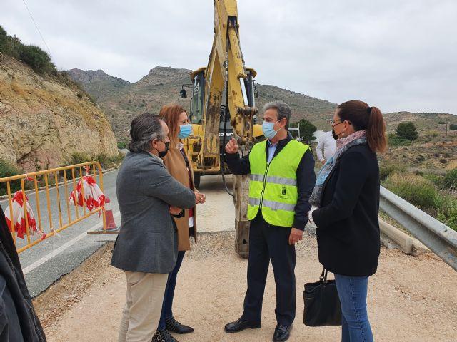Mejoran la seguridad de la carretera que une la pedanía de Caprés con el municipio de Fortuna - 1, Foto 1