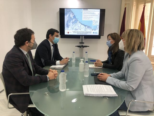 Comunidad y Ayuntamiento de Cartagena colaborarán en implantar acciones de drenaje sostenible para combatir las inundaciones - 1, Foto 1