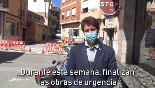 Finalizan las obras de emergencia en la red de saneamiento de Calle Maderera - 1, Foto 1