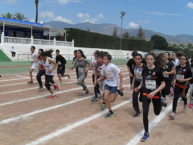 La fase local de atletismo de Deporte Escolar contó con la participación de 98 escolares, Foto 2
