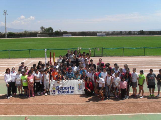 La fase local de atletismo de Deporte Escolar contó con la participación de 98 escolares, Foto 3