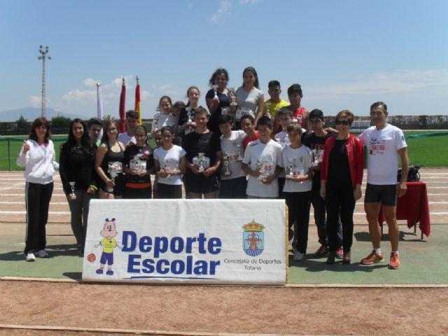 La fase local de atletismo de Deporte Escolar contó con la participación de 98 escolares, Foto 4