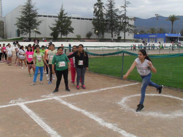 La fase local de atletismo de Deporte Escolar contó con la participación de 98 escolares, Foto 5