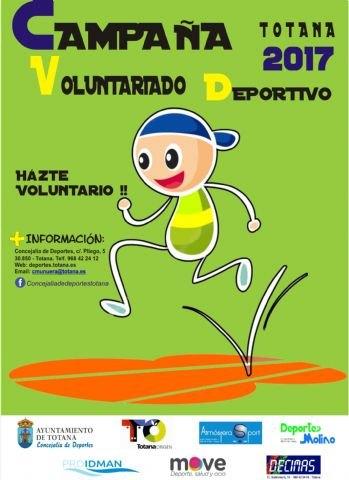 La Concejalía de Deportes promueve una campaña de captación para incentivar el voluntariado deportivo en Totana, Foto 2