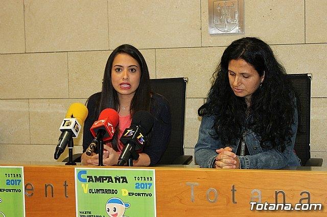 La Concejalía de Deportes promueve una campaña de captación para incentivar el voluntariado deportivo en Totana, Foto 1