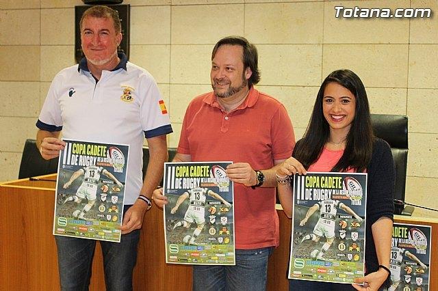 Totana acogerá la II Copa Cadete de Rugby de la Región de Murcia el próximo 13 de mayo, Foto 1