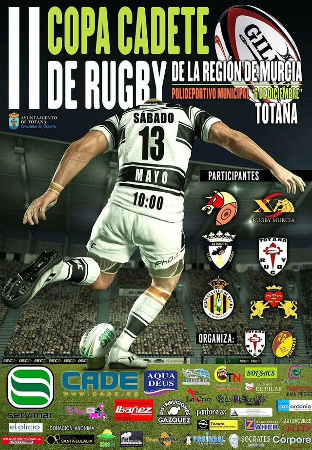 Totana acogerá la II Copa Cadete de Rugby de la Región de Murcia el próximo 13 de mayo, Foto 3