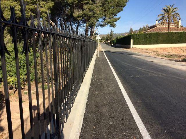 Finalizan las obras de reparación de la carretera C-7 de La Huerta a la altura de la Cruz de la Misión, Foto 1