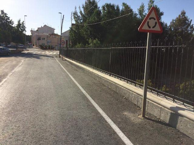 Finalizan las obras de reparación de la carretera C-7 de La Huerta a la altura de la Cruz de la Misión, Foto 2