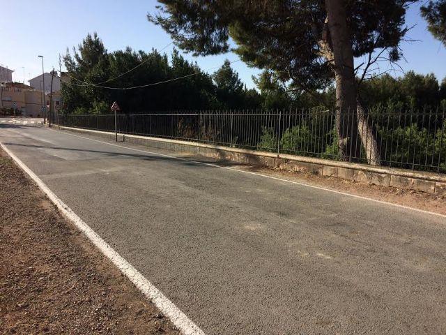 Finalizan las obras de reparación de la carretera C-7 de La Huerta a la altura de la Cruz de la Misión, Foto 3