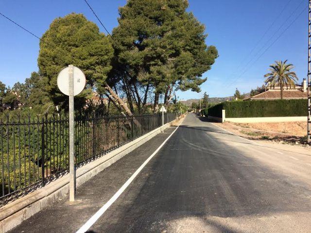 Finalizan las obras de reparación de la carretera C-7 de La Huerta a la altura de la Cruz de la Misión, Foto 4