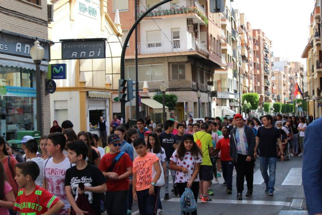 La XIII Marcha Solidaria Por el Alzheimer, que organiza AFADE Alcantarilla logra una edición más a cientos de participantes en la misma - 2, Foto 2