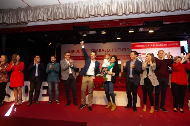 Emotivo acto de presentación del equipo de personas que acompañarán a José Rafael Rocamora en las próximas Elecciones Municipales del 26 de mayo - 2, Foto 2