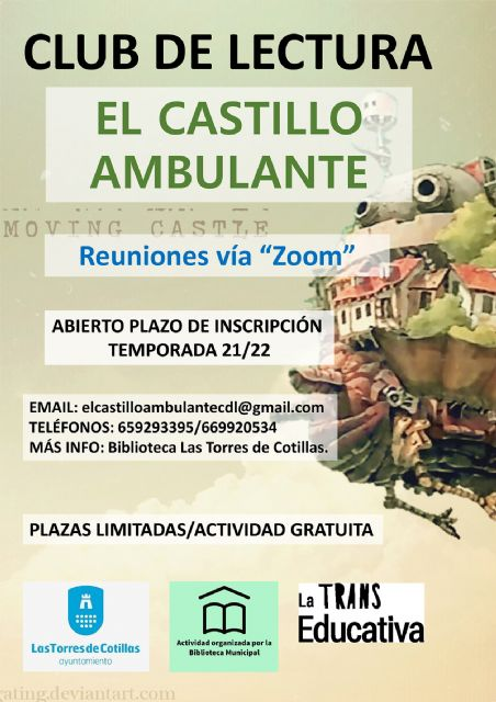 Las Torres de Cotillas propone un club de lectura en formato online - 1, Foto 1