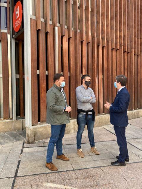 El PP defiende su proyecto de Murcia Medieval y exige la continuidad de la musealización de la Muralla de Santa Eulalia - 1, Foto 1
