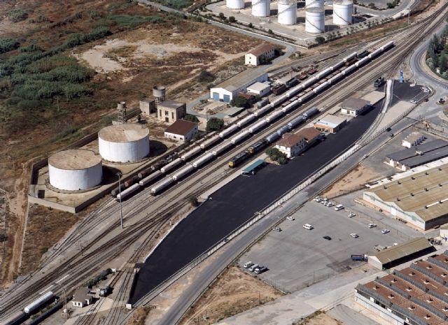 Adif adjudica las obras para la mejora de la explotación ferroviaria en la estación de Escombreras y en el ramal de acceso al puerto - 1, Foto 1