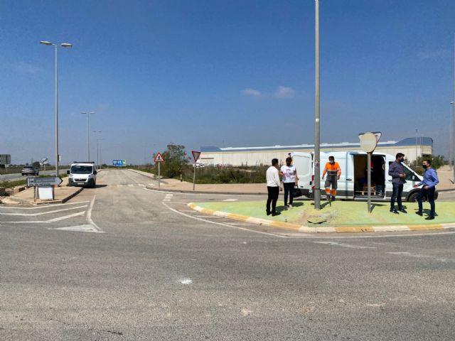 El Ayuntamiento procede a la reparación del cableado sustraído en el Polígono Industrial Municipal de Balsicas - 2, Foto 2