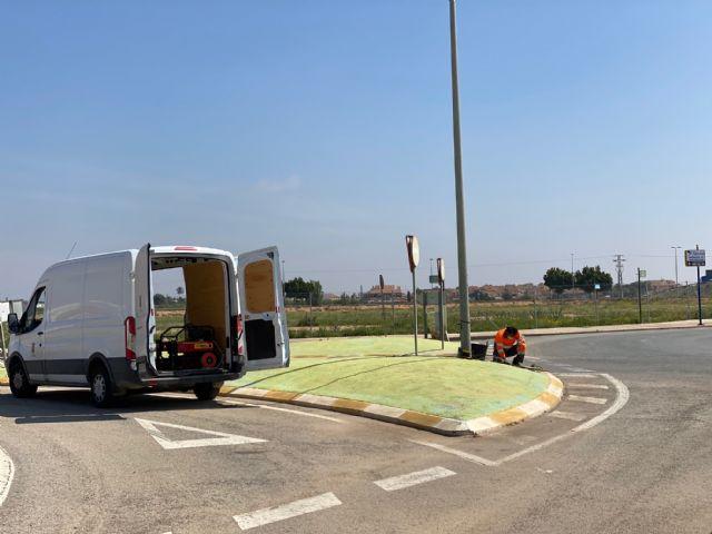 El Ayuntamiento procede a la reparación del cableado sustraído en el Polígono Industrial Municipal de Balsicas - 3, Foto 3