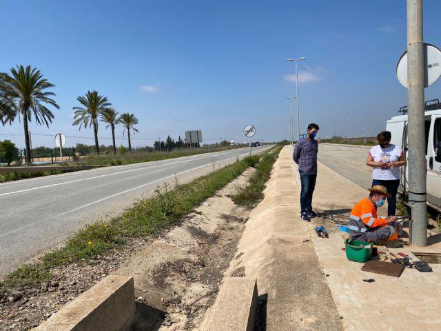 El Ayuntamiento procede a la reparación del cableado sustraído en el Polígono Industrial Municipal de Balsicas - 4, Foto 4