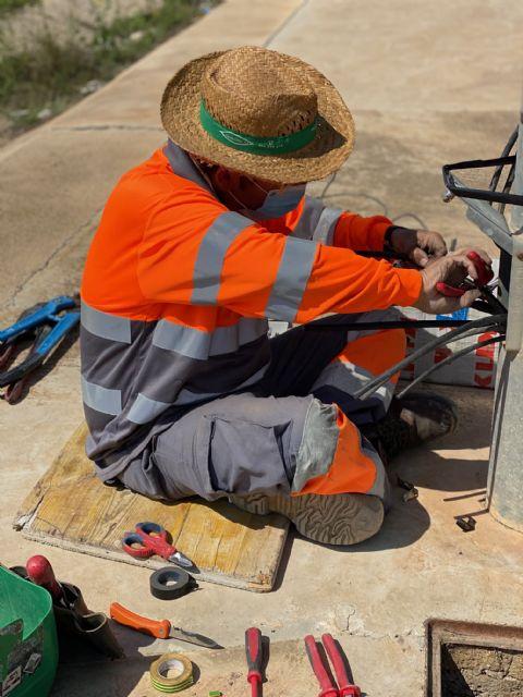 El Ayuntamiento procede a la reparación del cableado sustraído en el Polígono Industrial Municipal de Balsicas - 5, Foto 5