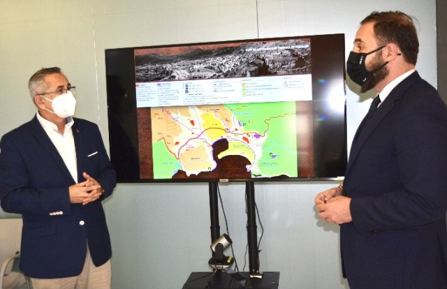 El alcalde de La Unión presenta el Plan de Sostenibilidad de Portmán al director general de Competitividad y Calidad Turística - 1, Foto 1