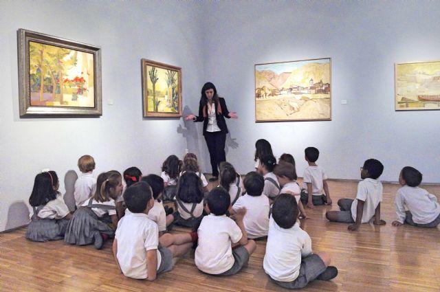 Últimos días para visitar la exposición ´Aurelio. Luz quieta´ en el Museo de Bellas Artes de Murcia, Foto 1