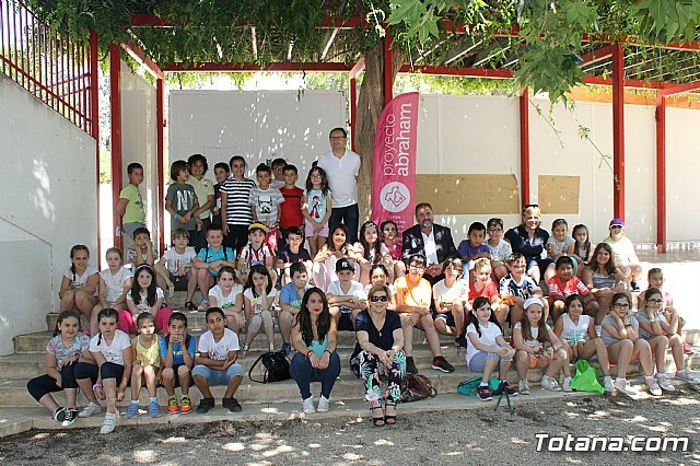 Escolares celebran actividades de concienciación para conmemorar el Día Mundial del Medio Ambiente en el parque municipal, Foto 1