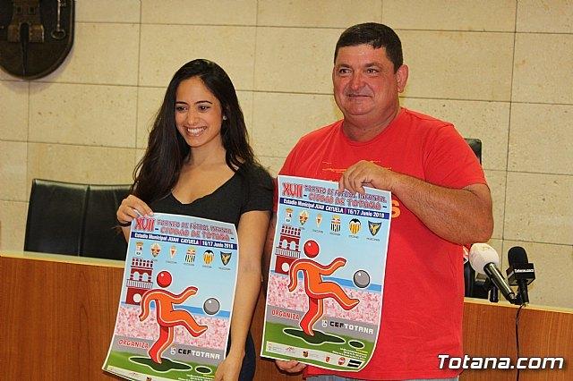 """Se presenta el XVII Torneo de Fútbol Infantil """"Ciudad de Totana"""", que se celebra el 16 y 17 de junio, Foto 1"""