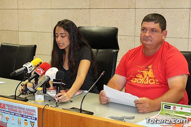 """Se presenta el XVII Torneo de Fútbol Infantil """"Ciudad de Totana"""", que se celebra el 16 y 17 de junio, Foto 2"""