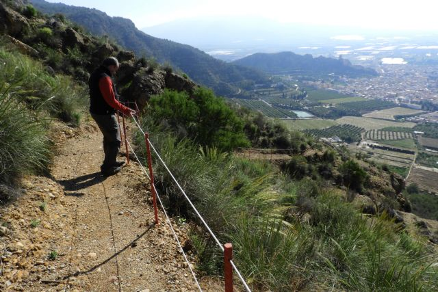 Restauración de la red de senderos en la sierra de La Muela, Foto 1