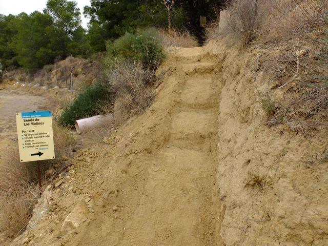 Restauración de la red de senderos en la sierra de La Muela, Foto 5