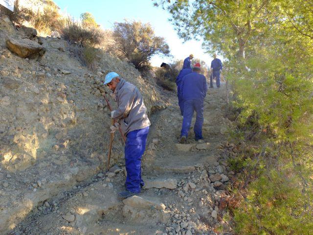 Restauración de la red de senderos en la sierra de La Muela, Foto 7