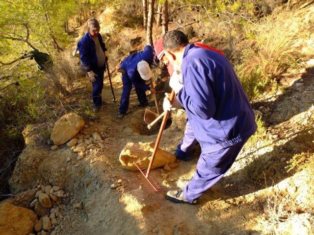 Restauración de la red de senderos en la sierra de La Muela, Foto 8