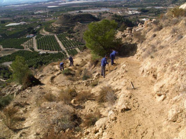 Restauración de la red de senderos en la sierra de La Muela, Foto 9