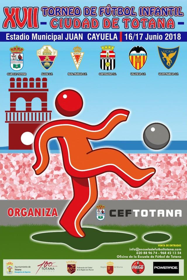 """Se presenta el XVII Torneo de Fútbol Infantil """"Ciudad de Totana"""", que se celebra el 16 y 17 de junio, Foto 3"""