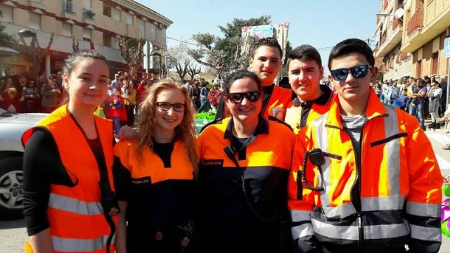 The incorporation of six new volunteers and a professional collaborator to the Association of Volunteers of Civil Protection of Totana - 4