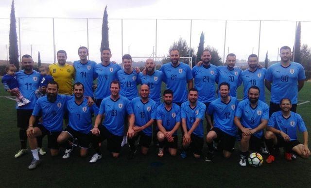 "The team ""Pizzeria Tumar Los Cachorros"" is proclaimed champion of the Football League ""Enrique Ambit Palacios"" - 1"
