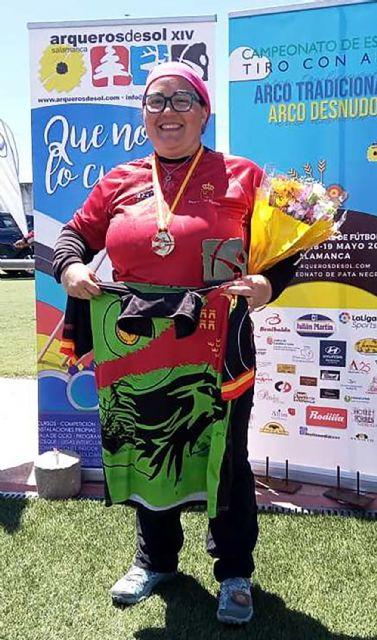 La torreña Mónica Puche, campeona de España de arco desnudo al aire libre - 1, Foto 1