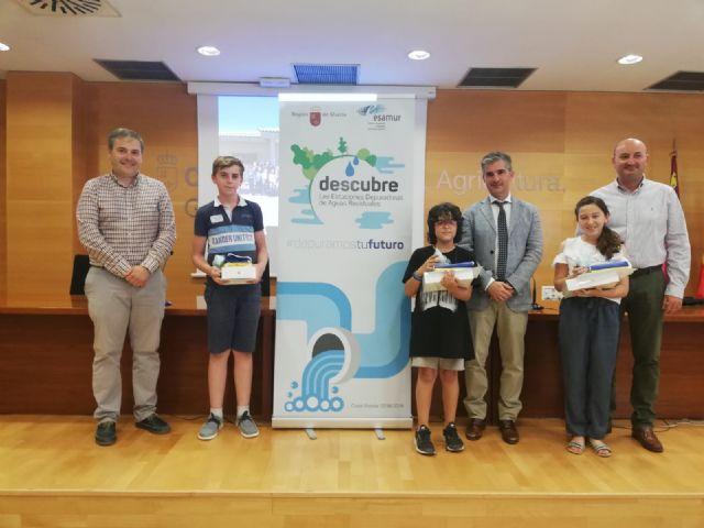 La campaña ´Descubre las EDAR´ premia a los  alumnos de la Región por su conocimiento en depuración de agua, Foto 1