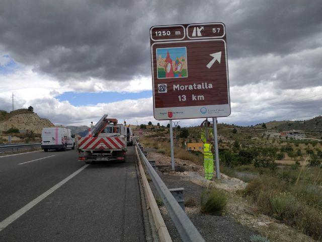 Refuerzan la señalética de los destinos y recursos turísticos de la Región de Murcia - 1, Foto 1