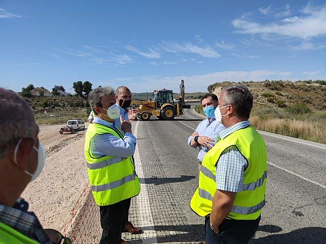 Refuerzan la seguridad de la carretera regional que une los municipios de Molina de Segura y Fortuna - 1, Foto 1