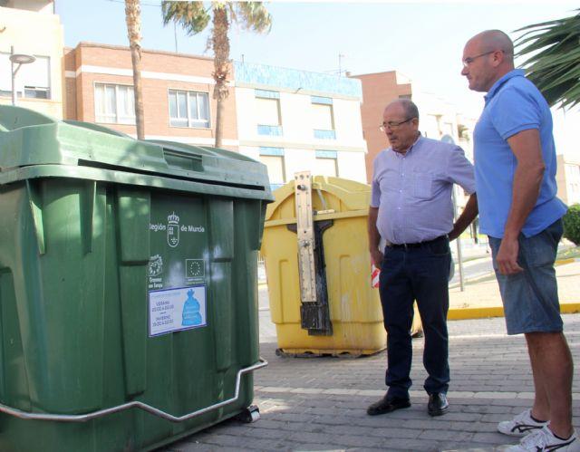 Puerto Lumbreras lanza una campaña de concienciación sobre el uso y los horarios de los contenedores de basura - 1, Foto 1